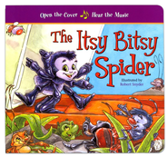 The Itsy Bitsy Spider--Musical Boardbook   -     By: Robert Snyder