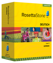 Rosetta Stone German Level 3 with Audio Companion Homeschool Edition, Version 3  -