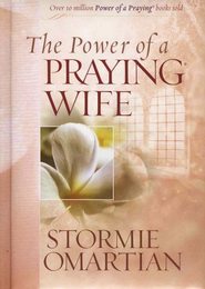 The Power of a Praying Wife Deluxe Edition hard cover padded with ribbon  -     By: Stormie Omartian