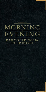 Morning and Evening, Luxury Gift-Black   -     By: Charles H. Spurgeon