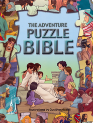 Adventure Bible Puzzle Book  -