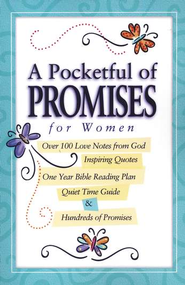 A Pocket Full of Promises for Women   -