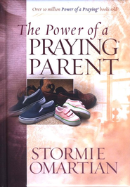 The Power of a Praying Parent Deluxe Edition Hardcover Padded with Ribbon  -              By: Stormie Omartian