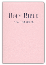 NIV Tiny New Testament, Imitation leather, pink  1984  -