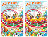 IncrediWorld Amazement Park VBS Bulletin Inserts (Pack of 20)  -