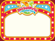 IncrediWorld Amazement Park Nametags (Pack of 60)   -