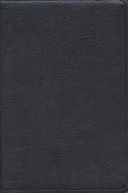 KJV/Amplified Parallel Bible, Bonded leather, black   -