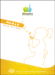 Pre-K & Kindergarten, Full Teacher Kit (boxed) Year 1, Quarter 2  -