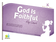 Answers Bible Curriculum: God Is Faithful Preschool Flipchart Year 1 Quarter 3  -
