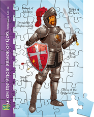 Kingdom Chronicles Armor of God Magentic Puzzle  -