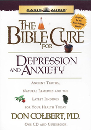 The Bible Cure for Depression and Anxiety               - Audiobook on CD  -              Narrated By: Steve Hiller                   By: Don Colbert M.D.