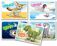 IncrediWorld Amazement Park VBS Incredibles Collectible Cards (Pack of 50; 10 of Each)  -