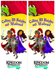Kingdom Chronicles Doorhangers (pack of 20)  -