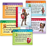 Pre-Primary Memory Verse Posters, pack of 6   -