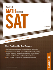 Master Math for the SAT, Second Edition   -