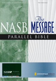 The Message, NASB Parallel Bible Hardcover  -