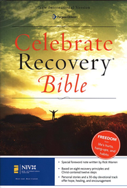 NIV Celebrate Recovery Bible, Hardcover 1984  -