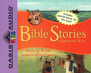 Bible Stories for Growing Kids - audiobook on CD   -     By: Francine Rivers, Shannon Rivers Coibion