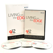 Living on the Edge-3 DVDs and Study Guide   -              By: Chip Ingram