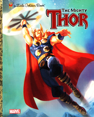 The Mighty Thor (Marvel: Thor)  -     By: Billy Wrecks     Illustrated By: Golden Books