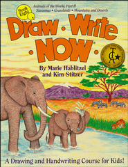 Draw Write Now, Book 8: Savannas, Grasslands, Mountains & Deserts   -     By: Marie Hablitzel, Kim Stitzer