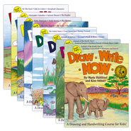 Draw Write Now Boxed Set, 8 Volumes   -     By: Marie Hablitzel, Kim Stitzer