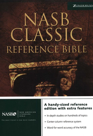 NAS Classic Reference Bible, Hardcover   -