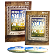 Rebuilding Your Broken World, 2 DVDs and Study Guide  -              By: Chip Ingram