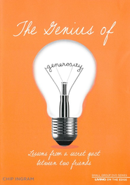 The Genius of Generosity: Lessons from a Secret Pact Between Two Friends, Small Group DVD  -              By: Chip Ingram
