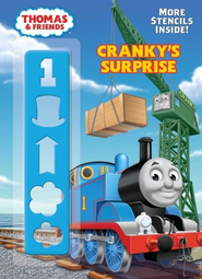 Cranky's Surprise Coloring Book  -              By: Rev. W. Awdry