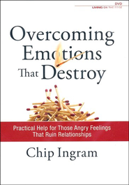 Overcoming Emotions that Destroy, 2 DVDs   -              By: Chip Ingram