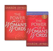 The Power of a Woman's Words, Book and Study Guide  -              By: Sharon Jaynes