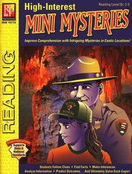 High-Interest Mini Mysteries Reading Level Gr. 2-3   -     By: Shannon Kietzman