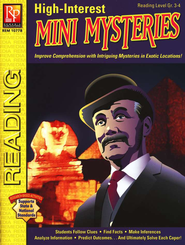 High-Interest Mini Mysteries Reading Level Gr. 3-4   -     By: Curt Robinson