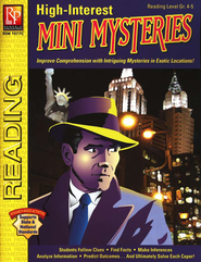 High-Interest Mini Mysteries Reading Level Gr. 4-5   -     By: Dennis Paul