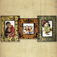 Family Metal Photo Frame  -