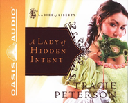 A Lady of Hidden Intent, Ladies of Liberty Series #2   Audiobook on CD  -     Narrated By: Aimee Lilly     By: Tracie Peterson