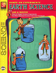 Hands-On Experiments: Earth Science, Air & Water   -     By: Harold Silvani