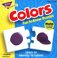 Colors Fun-to-Know Puzzle    -