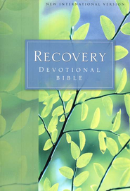 NIV Recovery Devotional Bible, Softcover 1984  -
