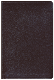 NIV Compact Thinline Bible, bonded burgundy  1984  -