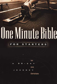 NIV One-Minute Bible for Starters, Slightly Imperfect   -