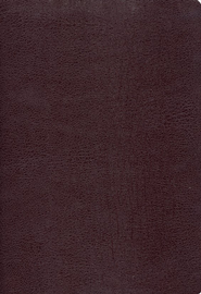 Zondervan NIV Study Bible, Bonded Leather, Burgundy 1984 - Imperfectly Imprinted Bibles  -