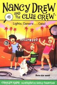 Nancy Drew and The Clue Crew: Lights, Camera.... Cats! # 8  -     By: Carolyn Keene