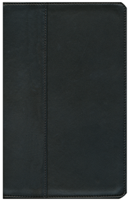 NIV Thinline Bible, Renaissance Fine Leather, Ebony 1984  -