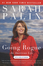 Going Rogue, Softcover  -     By: Sarah Palin