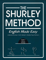Shurley English Level 7 Student Test Workbook  -