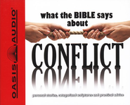 What The Bible Says About Conflict Audiobook on CD  -     Narrated By: Jill Shellabarger, Kelly Ryan Dolan