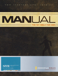 Manual: The NIV Bible for Men, Softcover  1984  -