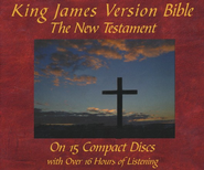 KJV Holy Bible - The New Testament on CD   -     Narrated By: Steven B. Stevens     By: Narrated by Steven B. Stevens